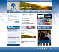 Preview nieuwe website Vrije Baptistengemeente Bethel