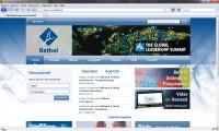 Website bethel.nl, informatief en sociaal