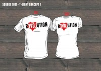Design: Opdruk voor t-shirt Impact-actie Square