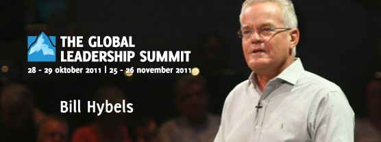 Bill Hybels op de Global Leadership Summit