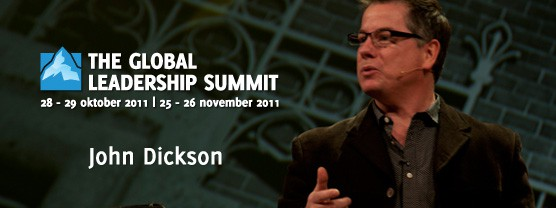 John Dickson op de Global Leadership Summit
