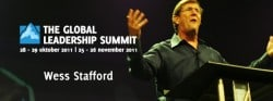 Wess Stafford op de Global Leadership Summit