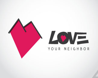 Love Your Neighbor Logotype