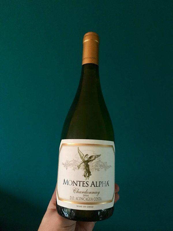 Witte wijn Montes Alpha Chardonnay uit Chili