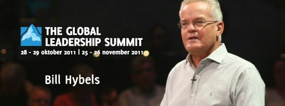 Bill Hybels op de Global Leadership Summit